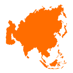 South-East Asia map