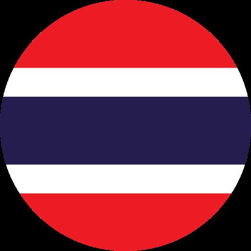 Flag ประเทศไทย